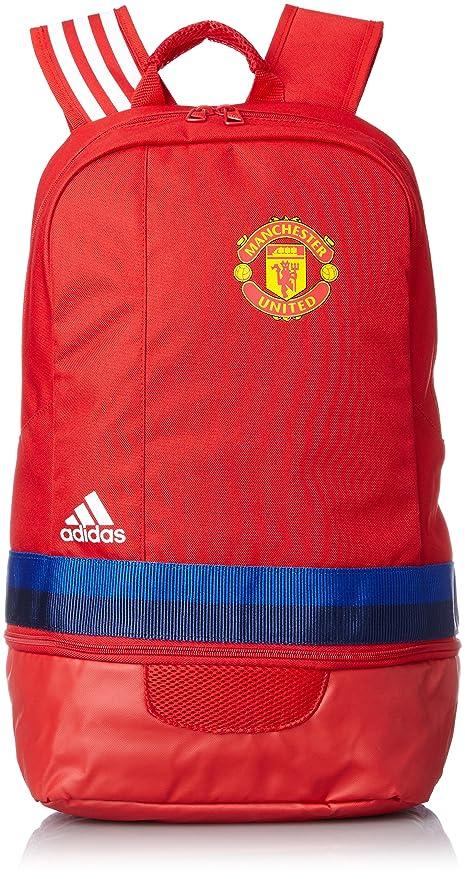445cf3d721 2015-2016 Man Utd Adidas Backpack (Scarlet)  Amazon.ca  Luggage   Bags