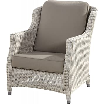 Amazon.de: 4Seasons Outdoor Brighton living Sessel Polyrattan ...