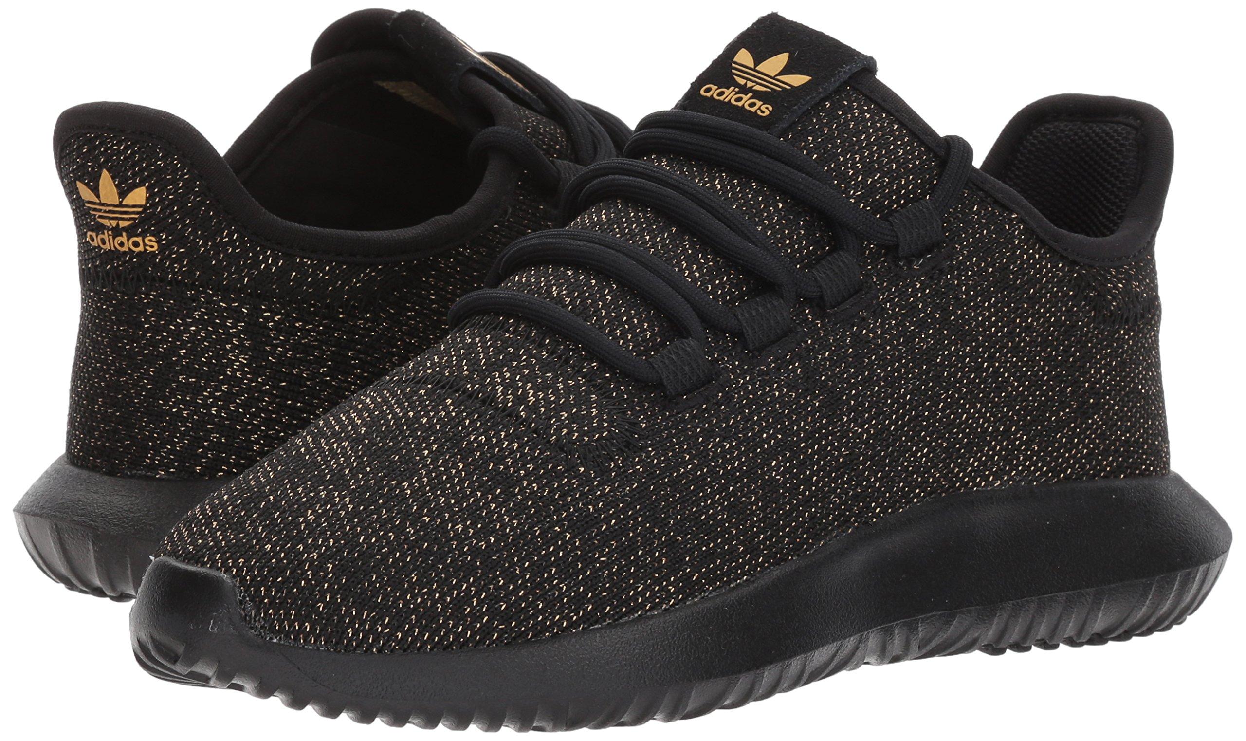 the latest b05c6 df54c adidas Originals Kids' Tubular Shadow J Sneaker, Black/Back ...