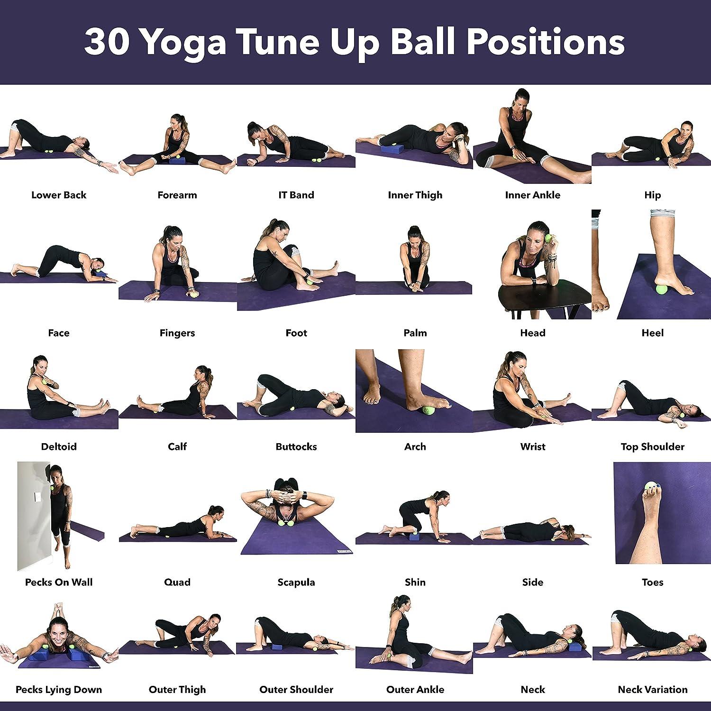 Amazon.com: Yoga Tune Up Balls Poster - Massage Therapy ...