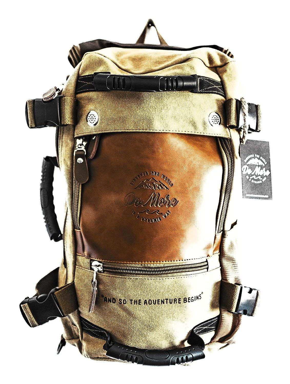 Do More Limited Editionand So The Adventure Begins Backpack Stylish Canvas Camping Vintage Messenger Laptop Bag Travel Bag Duffel Bag Backpack