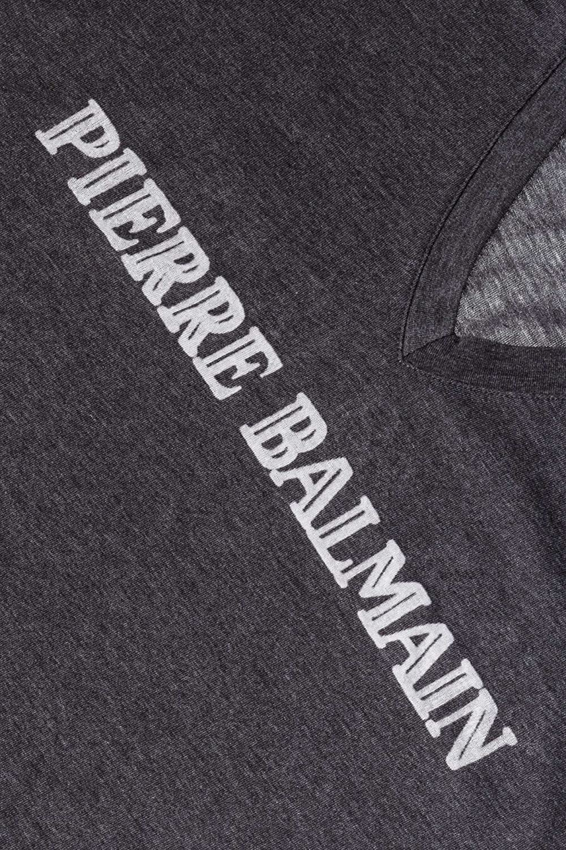 Pierre Amazon Y Print T Balmain Ropa Camiseta Larga Shirt Logo es 44cFO