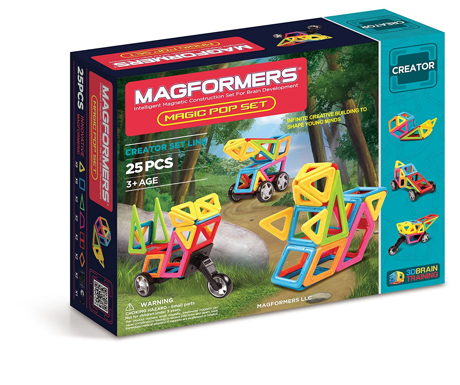 $39.49( was $78.99) Magformers Creator Magic Pop Set (25-Pieces)