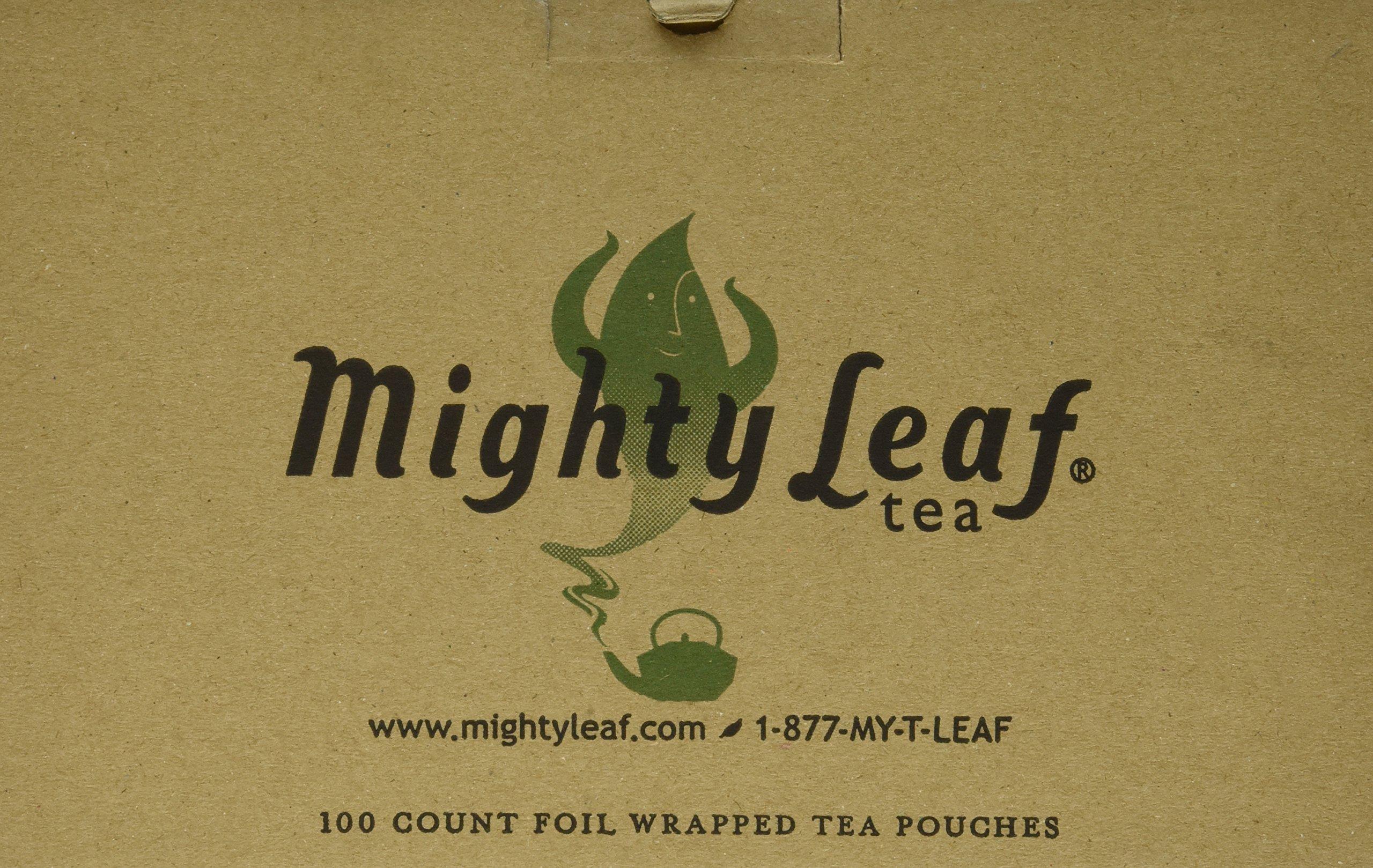 Mighty Leaf Organic Green Dragon Tea, 100 Tea Pouches by Mighty Leaf