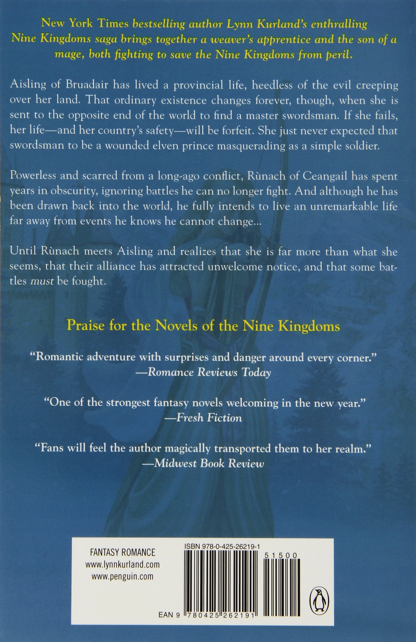 Dreamspinner (a Novel Of The Nine Kingdoms): Lynn Kurland: 9780425262191:  Amazon: Books