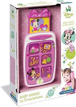 Clementoni - Juguete para bebés Minnie Mouse (62787.5): Amazon.es ...