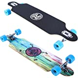 Karnage Drop Through Longboard - 38 inch Drop Through Freestyle Longboard Skateboard