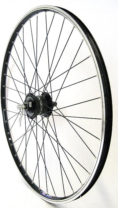 Rueda delantera para bicicleta (28
