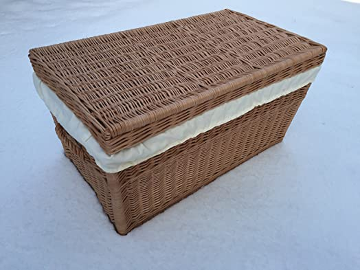 Wicker Extra Large Storage Basket With Lid 42 X Extra Large 80 Cm Wicker  Chest
