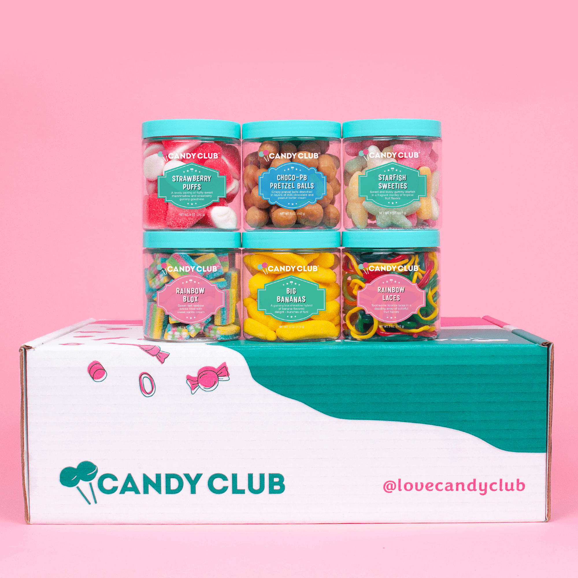 Candy Club - Delicious Premium Candies Subscription Box: