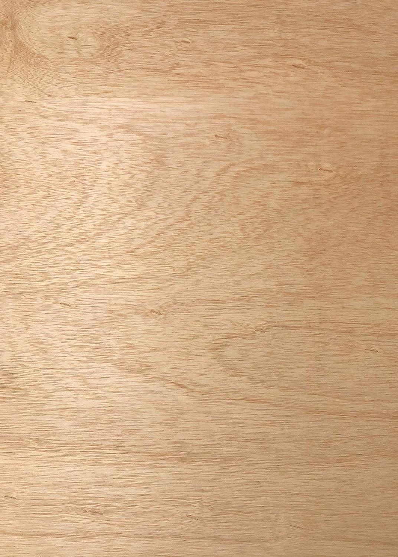 120 x 60 cm - Pack de 2 Madera de Okume y Chopo Elige Medidas: Tableros de Contrachapado Fen/ólico de 4mm