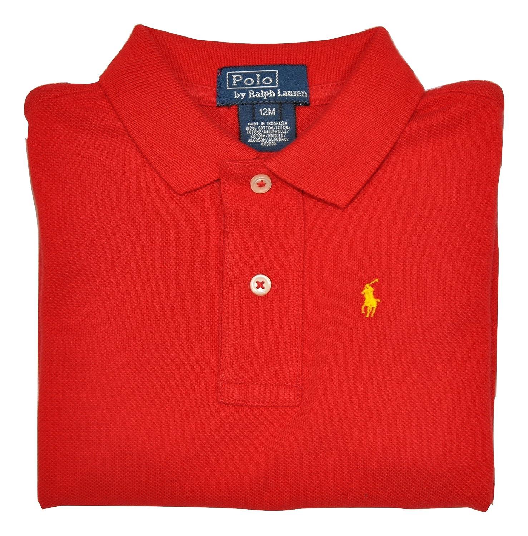 Polo Ralph Lauren - Polo - para bebé niño rojo 12 meses: Amazon.es ...
