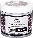 Auravedic Nourishing Night Lotion, Almond & Grapeseed ,100g