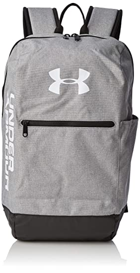 Under Armour UA Patterson Backpack Mochila, Unisex Adulto, Gris (Steel Medium Heather/Black/White 035), Talla única: Amazon.es: Deportes y aire libre