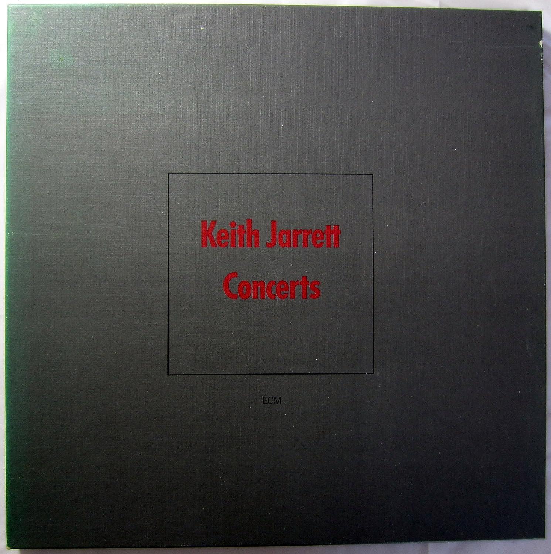 Keith Jarrett Concerts 3 Lp Record Box Set Amazon Com Music