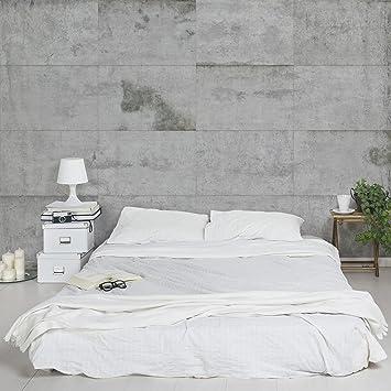 Papier Peint Intisse Grande Largeur.Apalis Papier Peint Aspect Beton Largeur Papier Peint