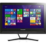 Lenovo C40 21.5 inch All-in-One PC (Black) - (Intel Pentium 3805U, 4Gb RAM, 1Tb HDD, DVDRW, WLAN, BT, Camera, Integrated Graphics, Windows 10 Home)