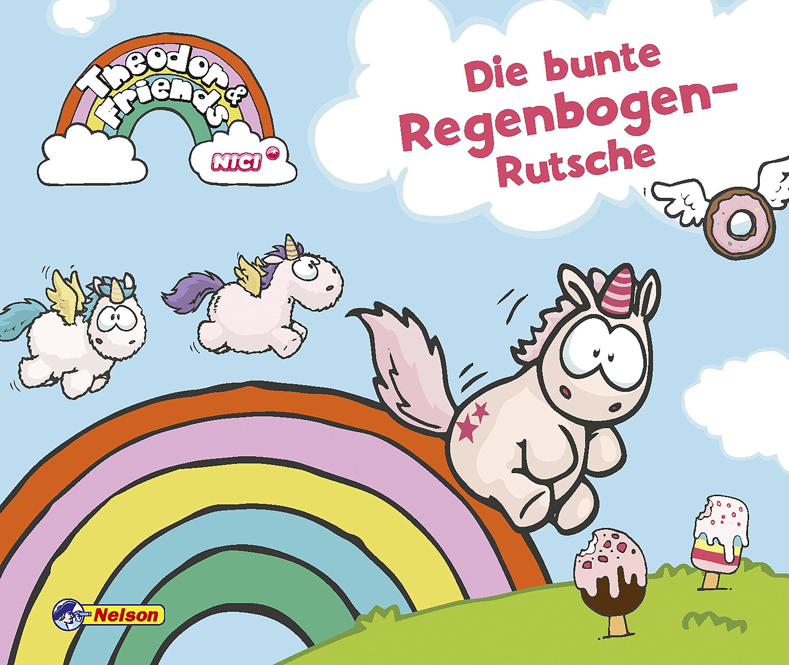 Theodor and Friends: Theodor and Friends: Die bunte Regenbogen-Rutsche