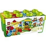 LEGO 10572 DUPLO My First All in One Box of Fun Brick Set, Easy Toy Storage, Preschool Toys for Kids  1,5-5