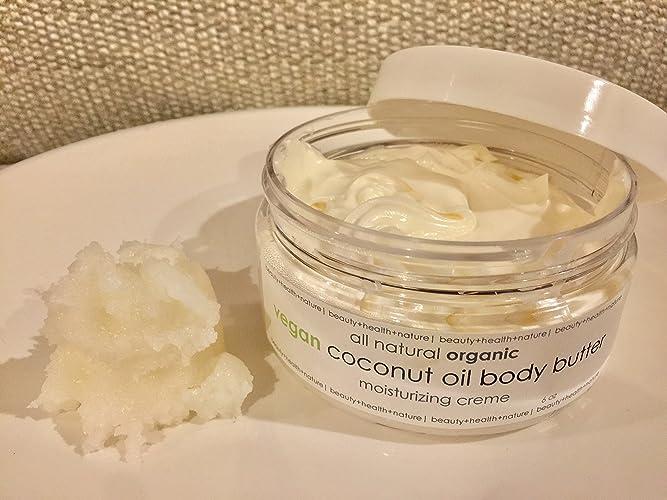 Organic Vegan Coconut Oil Body Butter