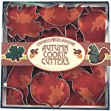 Fox Run Autumn Cookie Cutter Set