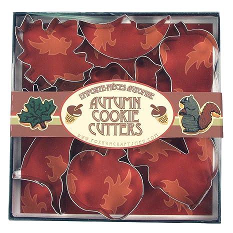 Juego de moldes recortadores para hacer galletas, de la marca Fox Run, con formas