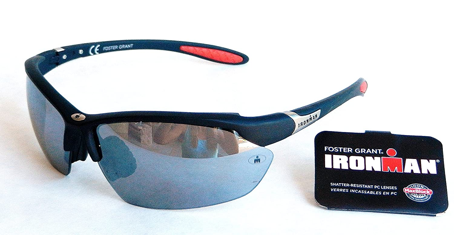925a14ca0e6 Amazon.com   Foster Grant Iron Man ADRENALINE Sunglasses (1057) 100% UVA    UVB Protection-Shatter Resistant   Everything Else
