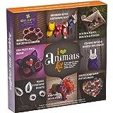 Craft-tastic – I Love Animals Kit – Craft Kit Makes 8 Animal-Themed Projects