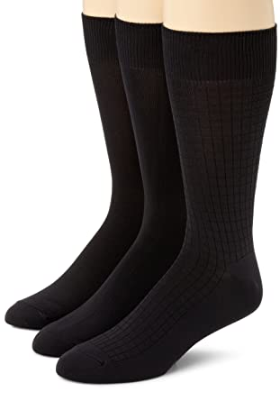e08ac4907ef3 Calvin Klein Men's 3 Pack Microfiber Assorted Pack Socks at Amazon Men's  Clothing store: Dress Socks