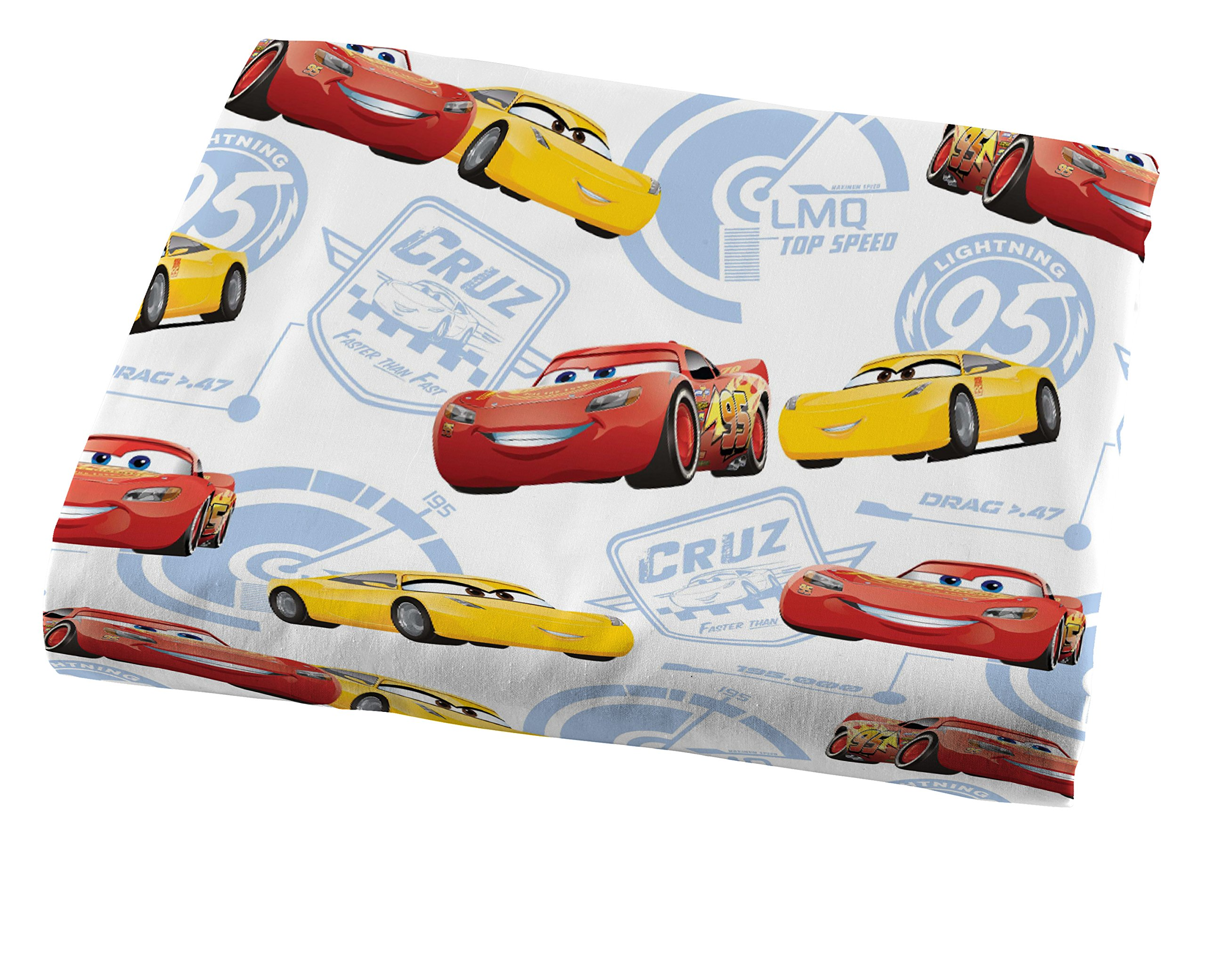 Jay Franco Cars 3 High Tech Twin 3 Piece Sheet Set, Red by Jay Franco (Image #2)
