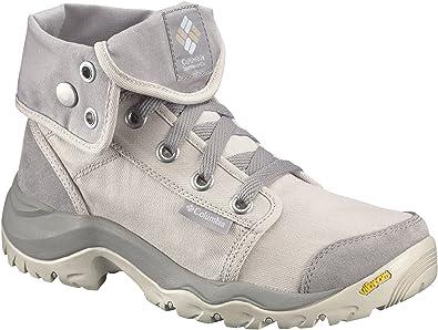 Columbia Damen Sneakers, Wasserdicht, Camden Chukka, Beige (Ancient Fossil Grey Ice), Größe: 37.5