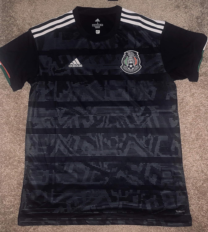 Camiseta de fútbol Mexicana Copa Oro 2019 Selección Mexicana Negro, XXL, Negro: Amazon.es: Deportes y aire libre