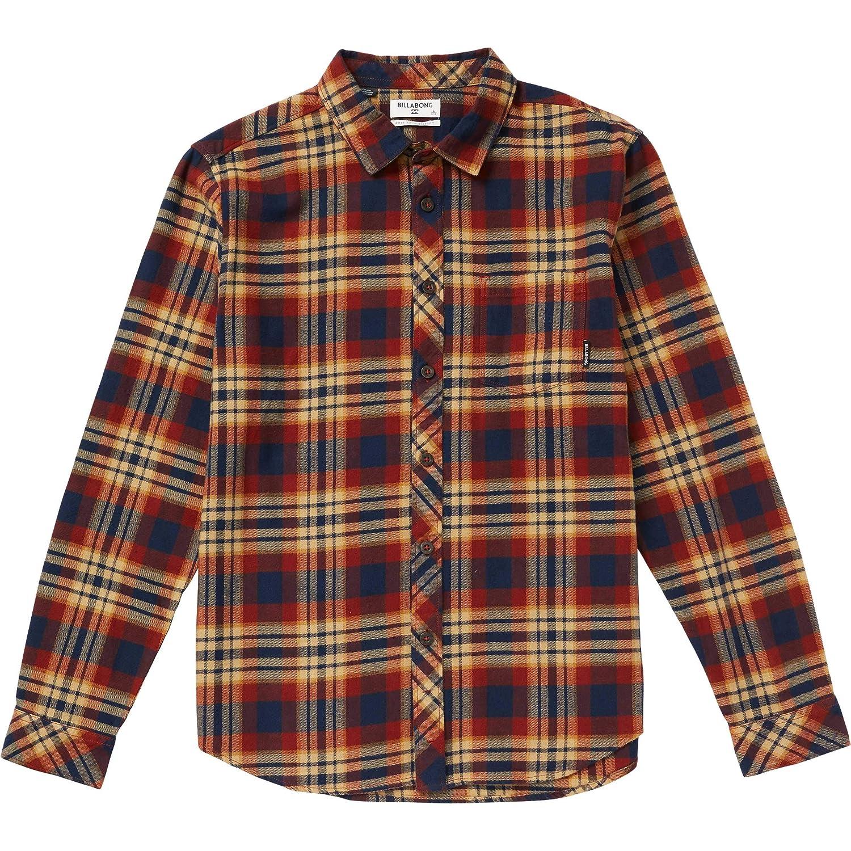 BILLABONG Niños B532SBCO Manga Larga Camisa de Botones - Beige ...