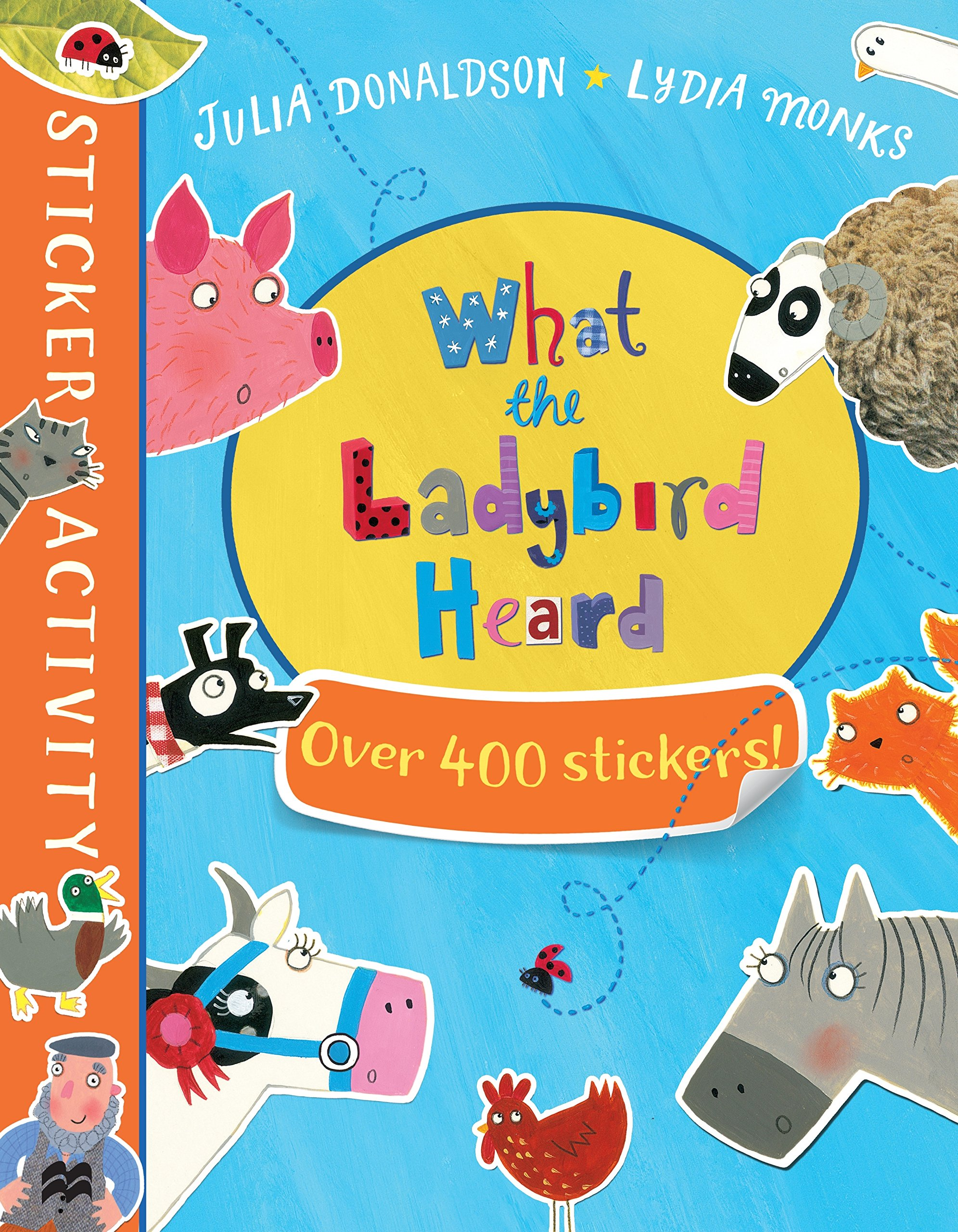 The What the Ladybird Heard Sticker Book ebook
