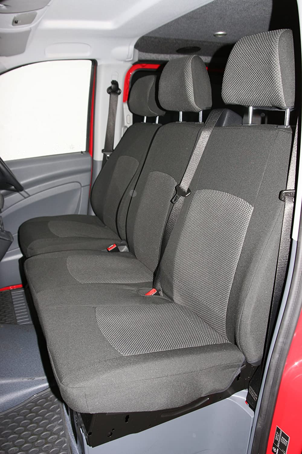 Mercedes Vito Driver Bench Seat Covers Tailored To Fit