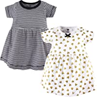 Hudson Baby Toddler and Baby Girl Cotton Dresses