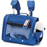 Prefer Pets - Premium Pet Carrier Backpack - Airline Approved with Side Pocket, Padded Shoulder Straps - Perfect for Small Dogs and Cats