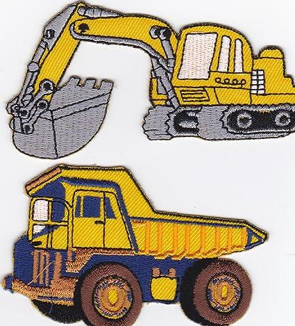 TRUCK Camiones parche plancha de planchar Iron on patches applikation