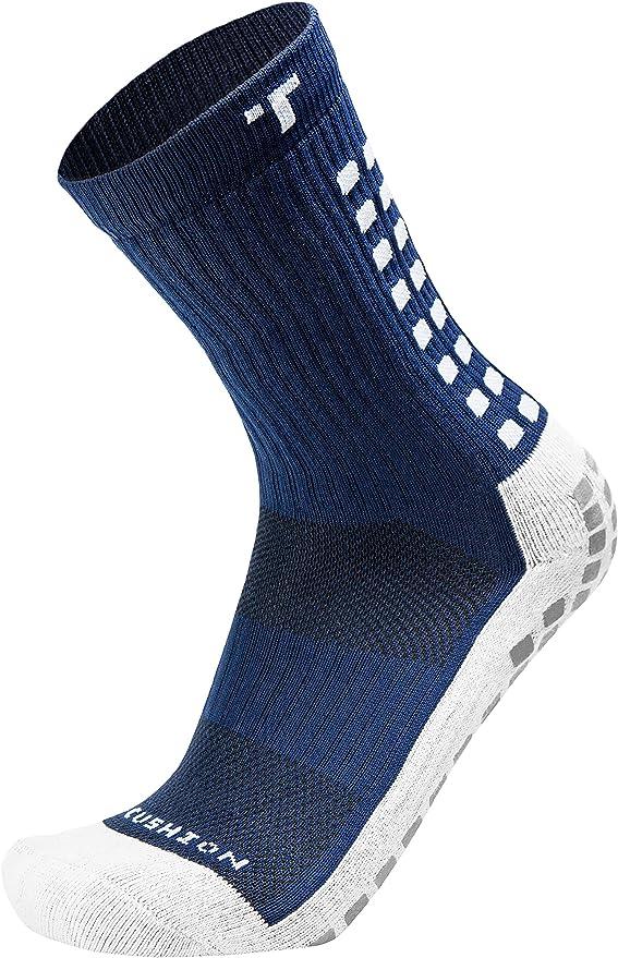 TruSox Mid Calf Cushion Socks Black