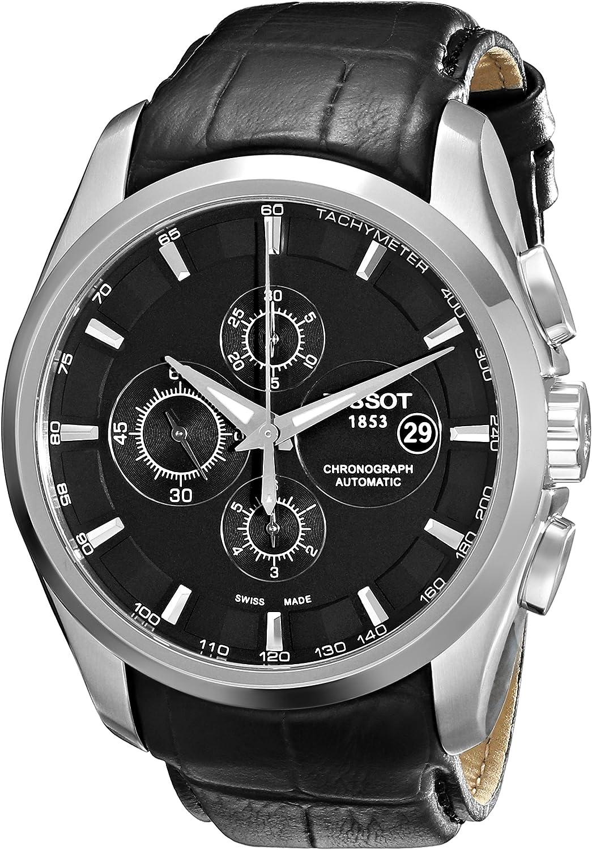 Tissot 32003507 - Reloj de pulsera para hombre (redondo, analógico, automático, piel)