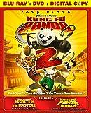 Kung Fu Panda 2 (Blu-Ray + DVD + Digital Copy) (Bilingual)