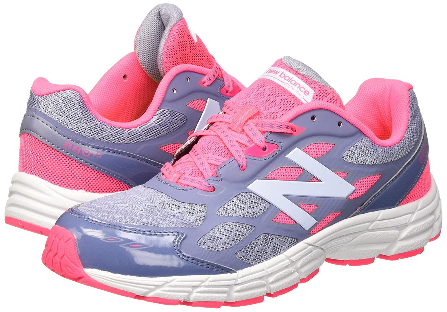 chaussures de séparation 04241 826a7 New Balance Girl's KJ880v5 Pink/Purple 12.5 XW: Amazon.ca ...