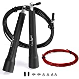 Jump Rope with 10ft Free Cable, Speed & Adjustable, Best for Skip Training and Personal Fitness