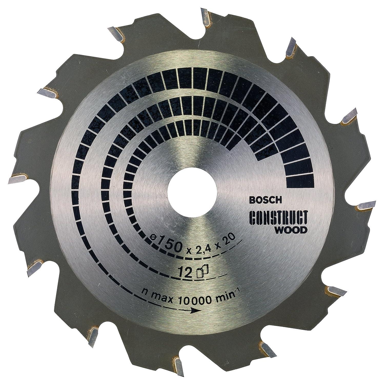 Bosch Zubehö r 2608640703 Kreissä geblatt Construct Wood 400 x 30 x 3,2 mm, 28