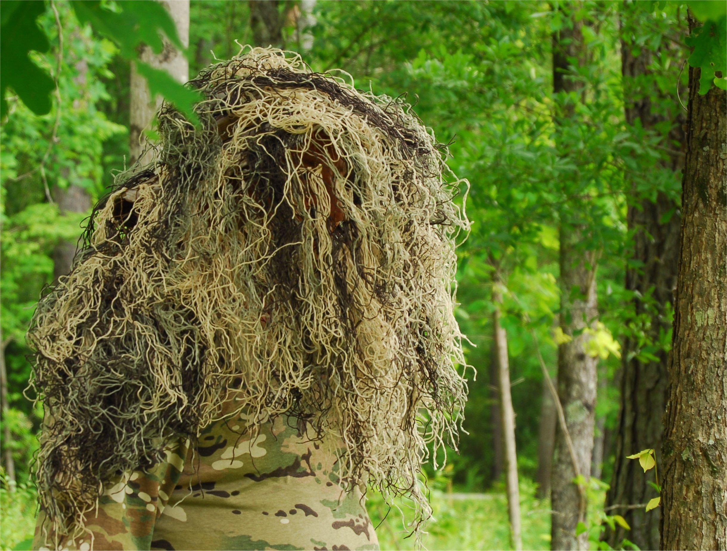 Ghillie Boonie Hat (Mossy, 7)