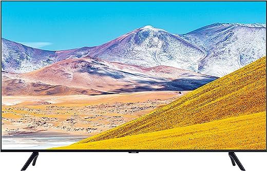 43 inches LED TV Samsung 4K Ultra HD Smart LED TV UA43TU8000KBXL (Black) (2020 Model)
