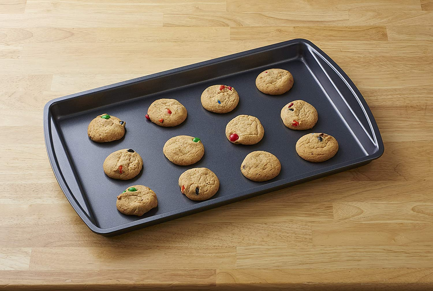 Betty Crocker Set of 3 Non-Stick Cookie and Baking Sheets