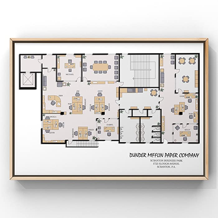 Top 9 The Office Layout