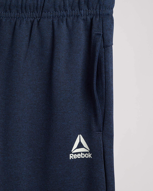 Reebok Boys Fleece Poly Tricot Active Jogger Sweatpants