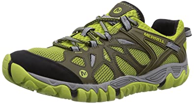 c391d52300 Merrell All Out Blaze Aero Sport, Men's Lace-Up Trekking and Hiking Shoes